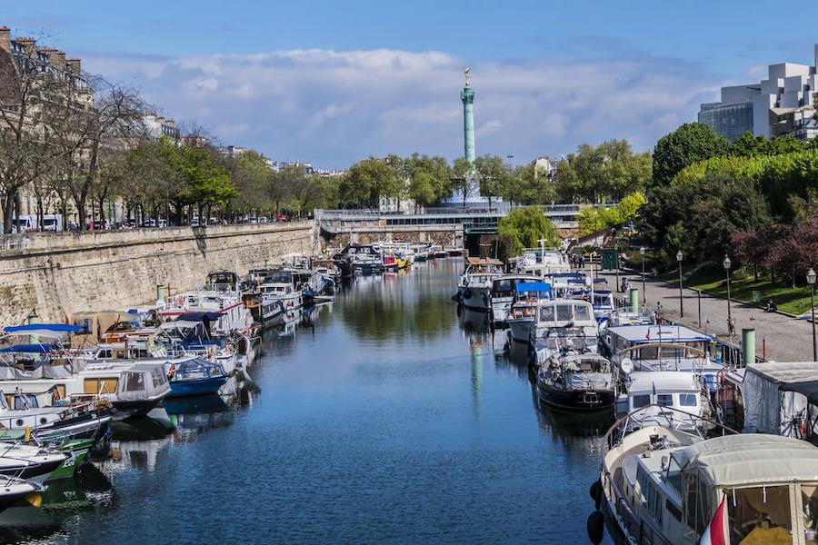 Find a hotel near Canal Saint-Martin